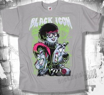 koszulka BLACK ICON - SCOOBY (MICON008 HEATHER GREY)