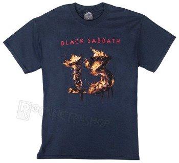koszulka BLACK SABBATH - 13 NEW ALBUM navy