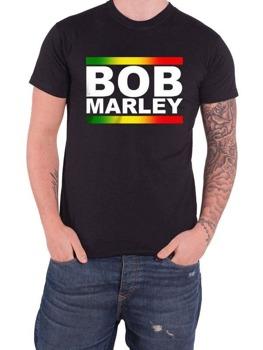 koszulka BOB MARLEY - RASTA BAND BLOCK