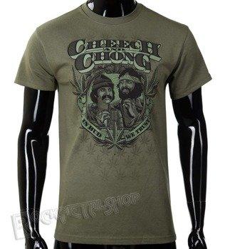 koszulka CHEECH AND CHONG - IN BUD WE TRUST