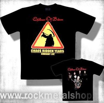 koszulka CHILDREN OF BODOM - CHAOS RIDDEN YEARS