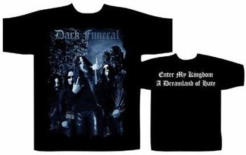 koszulka  DARK FUNERAL- ENTER MY KINGDOM
