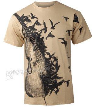 koszulka DARK VIOLIN beżowy