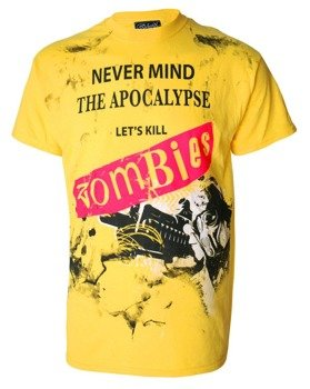 koszulka DARKSIDE - NEVERMIND THE APOCALYPSE KILL ZOMBIES żółta