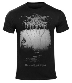 koszulka DARKTHRONE - BLACK DEATH AND BEYOND