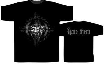 koszulka DARKTHRONE - HATE THEM