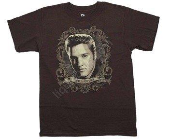 koszulka ELVIS PRESLEY - LOVE ME TENDER brązowa