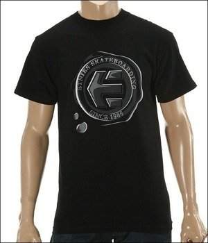 koszulka ETNIES -Waxed (Black) 09'