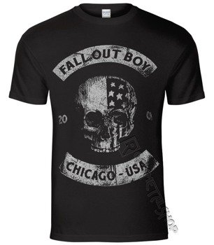 koszulka FALL OUT BOY - CHICAGO SKULL