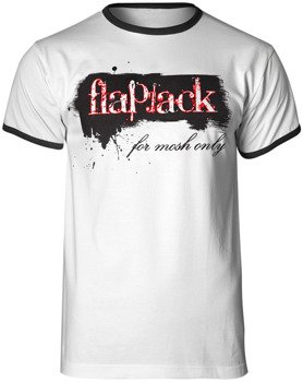 koszulka FLAPJACK - FOR MOSH ONLY biała