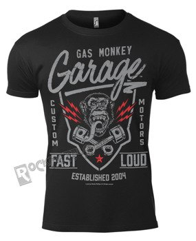koszulka GAS MONKEY GARAGE - FAST´N LOUD