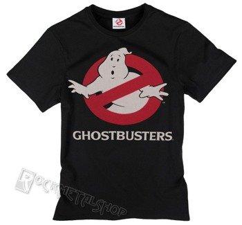koszulka GHOSTBUSTERS - LOGO czarna