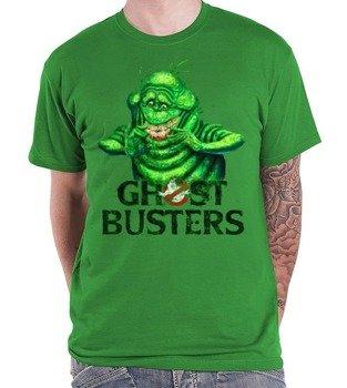 koszulka GHOSTBUSTERS - SLIMER zielona