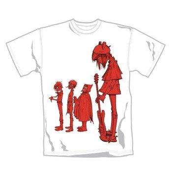 koszulka GORILLAZ - NOODLE BAND RED