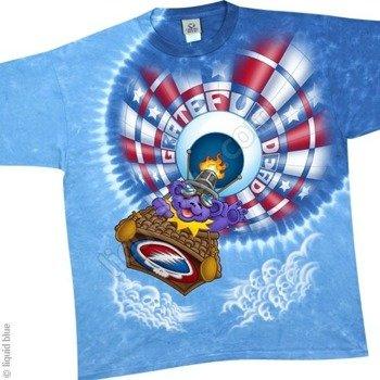 koszulka GRATEFUL DEAD - BALLOON BEAR barwiona