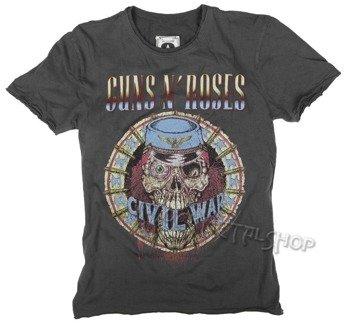 koszulka GUNS N' ROSES - CIVIL WAR szara