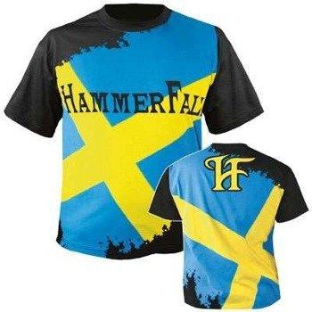koszulka HAMMERFALL - SWEDEN - DELUXE