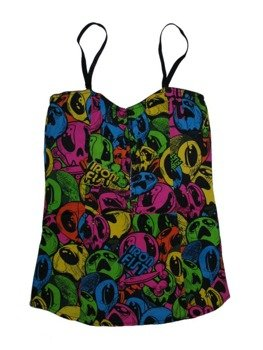 koszulka IRON FIST - 99 DEAD BALLOONS CORSET  (ASSORTED)