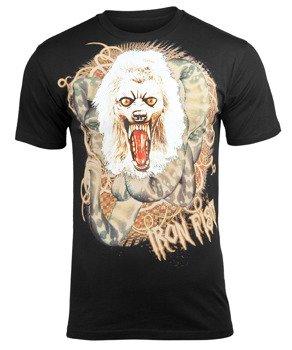 koszulka IRON FIST - WOLFANG MCMULLET (BLACK) 09'