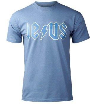 koszulka JESUS niebieska