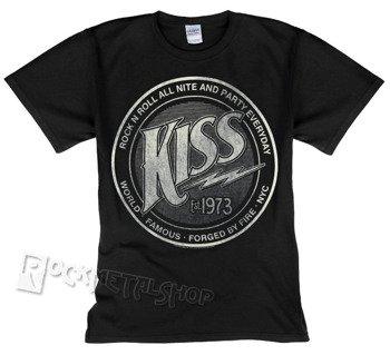 koszulka KISS - LOGO EST 1973