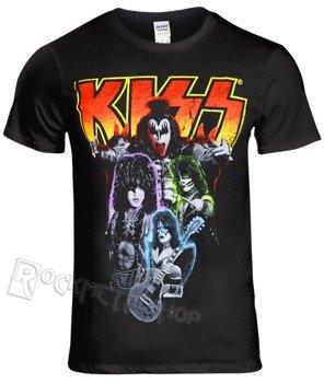 koszulka KISS - NEON BAND