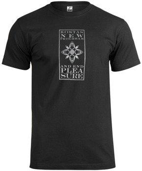 koszulka KOSTAS NEW PROGRRAM - AND END PLEASURE (czarna)