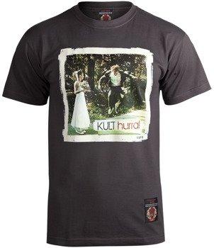 koszulka KULT - HURRA grafitowa