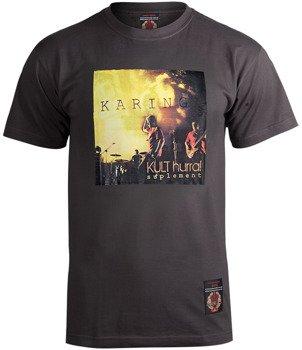 koszulka KULT - KARINGA / HURRA! SUPLEMENT grafitowa
