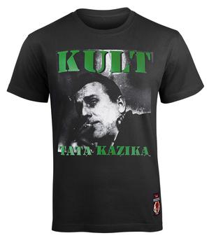 koszulka KULT - TATA KAZIKA czarna