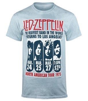 koszulka LED ZEPPELIN - ZEPPELIN LA 1975, barwiona