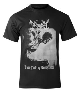 koszulka MAYHEM - PURE FUCKING ARMAGEDDON barwiona