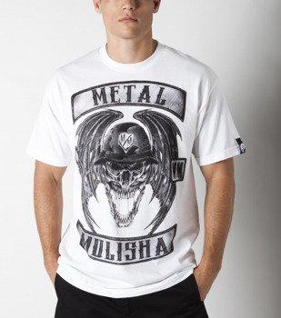 koszulka METAL MULISHA - DEEGAN PATCHES biała