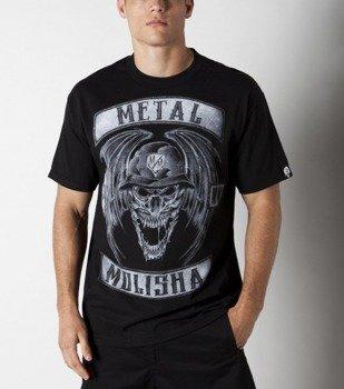 koszulka METAL MULISHA - DEEGAN PATCHES czarna