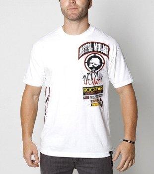 koszulka METAL MULISHA - DEEGAN RACE biała