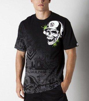 koszulka METAL MULISHA - GUNFIRE GREEN czarna