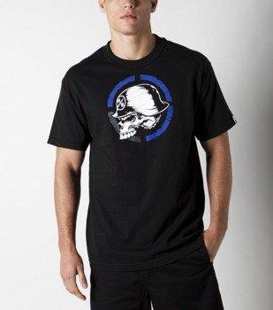 koszulka METAL MULISHA - QUARTERED czarna