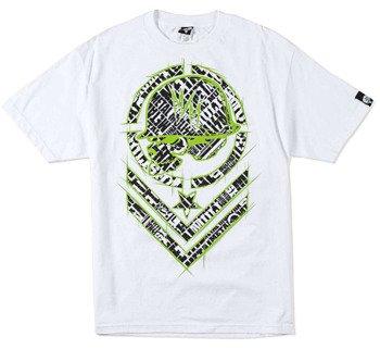 koszulka METAL MULISHA - SHRED biała