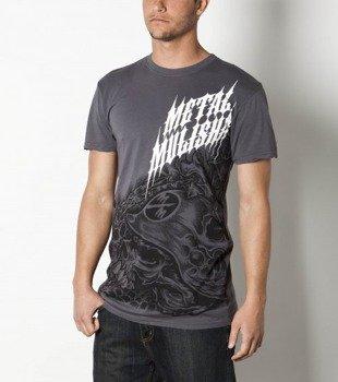 koszulka METAL MULISHA - STRUGGLE-CSTM FIT szara