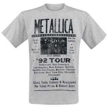 koszulka METALLICA - 1992 POSTER