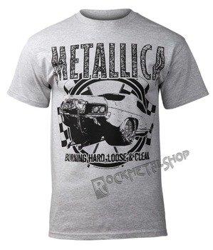 koszulka METALLICA - BURNING HARD
