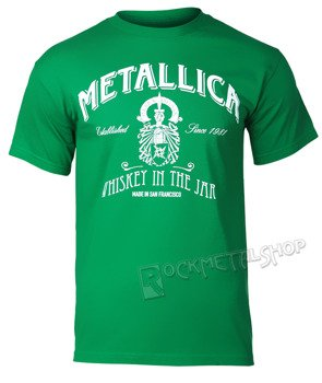 koszulka METALLICA - GREEN WHISKEY IN THE JAR