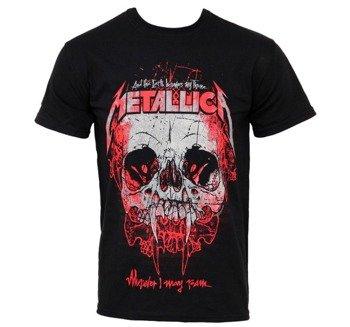 koszulka METALLICA - WHEREVER I MAY ROAM TOUR 2012 EUROPE