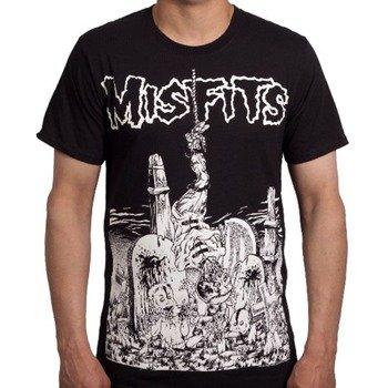 koszulka MISFITS - GRAVEYARD