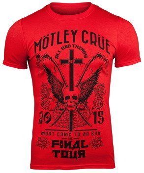 koszulka MOTLEY CRUE - FINAL TOUR TATTOO