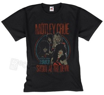 koszulka MOTLEY CRUE - VINTAGE WORLD TOUR DEVIL