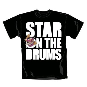 koszulka MUPPETS - STAR ON THE DRUMS