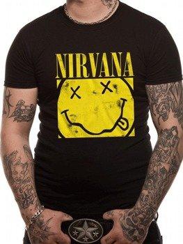 koszulka NIRVANA - BOX SMILEY