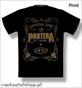 koszulka PANTERA - OFFICIAL LIVE: 101 PROOF