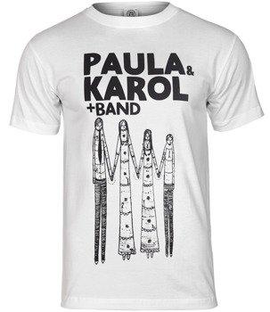 koszulka PAULA I KAROL + BAND biała